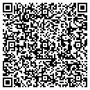 QR code with 3 R Electric contacts