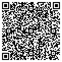 QR code with K & W Interiors contacts