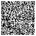 QR code with B & A Mobile Mix Concrete contacts