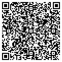 QR code with H P Carpet Service contacts