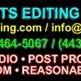 Pro Cuts Editing Services in Crofton, MD