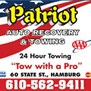 Patriot Auto Recovery and Towing in Hamburg, PA