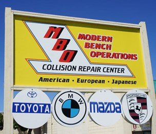 Modern Bench Operation Collision Repair Center